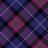 Duma Scotland tartanu tkaniny diagonalnej tekstury bezszwowy wzór Zdjęcia Stock