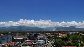 Dumaguete City Skyline Time Lapse 06 stock video