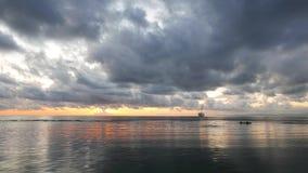 Dumaguete sunrise time lapse stock video