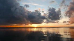 Dumaguete Sunrise Time Lapse stock footage