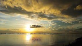 Dumaguete sunrise timelapse stock video