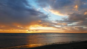 Dumaguete Sunrise Timelapse  stock video footage