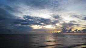 Dumaguete Sunrise Timelapse 11 stock footage