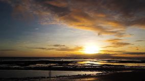 Dumaguete sunrise timelapse stock footage