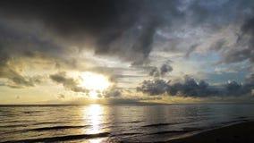 Dumaguete Sunrise 05 stock footage