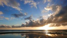 Dumaguete wschodu słońca timelapse zdjęcie wideo