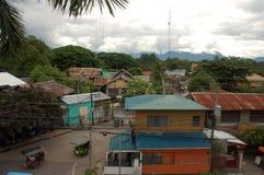 Dumaguetestad op Negros-eiland, Filippijnen stock afbeeldingen