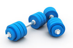 Dumb bells Royalty Free Stock Photography
