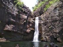 Dumbara瀑布 库存照片