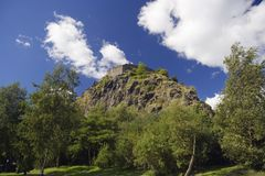 dumbarton rock Fotografia Royalty Free