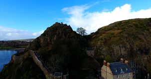 Dumbarton Rock and Castle Stock Images