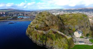 Dumbarton Rock and Castle Royalty Free Stock Photos