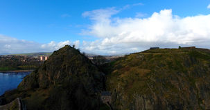 Dumbarton Rock and Castle Royalty Free Stock Photo