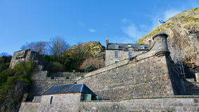 Dumbarton Rock and Castle Stock Image