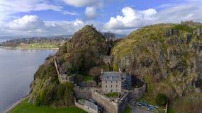 Dumbarton-Schloss Lizenzfreies Stockfoto