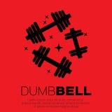 Dumbbel set . Royalty Free Stock Image