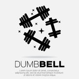 Dumbbel Royalty Free Stock Images