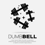 Dumbbel Royalty Free Stock Images