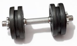 Free Dumbbell Royalty Free Stock Image - 114886