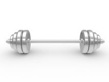 The dumbbell Royalty Free Stock Photos
