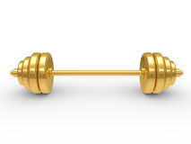 The dumbbell Royalty Free Stock Photo