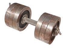 dumbbell Obraz Royalty Free
