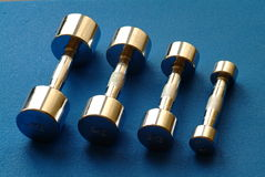 Dumbbell Stockfotos