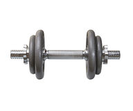 The dumbbell Royalty Free Stock Images