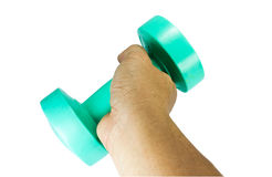 The dumbbell. Stock Image