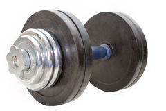 Dumbbell 25 quilogramas Foto de Stock Royalty Free