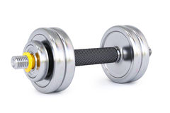 Dumbbell. On a white background royalty free illustration