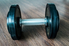 dumbbell Stock Foto