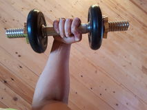dumbbell Foto de Stock Royalty Free