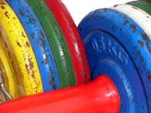 Dumbbell Bars 4 Stock Image