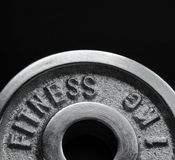 Dumbbell close up Royalty Free Stock Photo