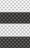 Dumbbell or Fitness Weight Big & Small Seamless Pattern SetDog Big & Small Aligned & Random Seamless Pattern Set Stock Photography