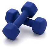 Dumbbell-Gewichte Stockfoto