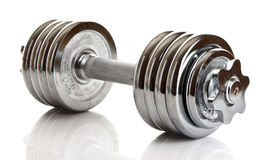 Dumbbell isolated Stock Image