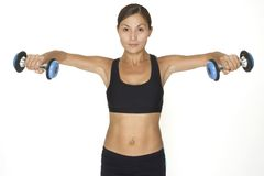 Dumbbell Lateral Raise 2 Stock Photos
