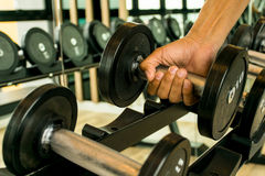 Dumbbell Royalty Free Stock Images