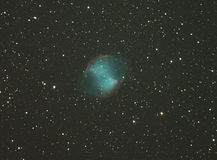 Dumbbell Nebula Stock Photo