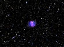 The Dumbbell Nebula stock photography