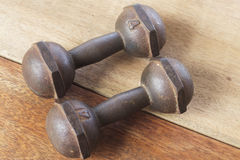 Dumbbell no.1 Royalty Free Stock Images