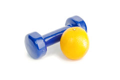 The dumbbell Stock Photos