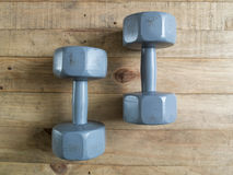 Dumbbell Royalty Free Stock Photography