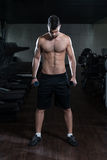 Dumbbell Squat Stock Images