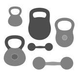 Dumbbell. Vector illustration (EPS 10 vector illustration