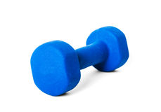 Dumbbell weight Stock Image