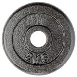 Dumbbell weight Royalty Free Stock Photo