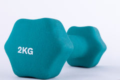 Dumbbell Weights Stock Photography